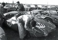 Reims 1964 RTH Porsche 904 GTS drivers van Zalinge en van Lennep