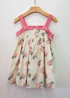 Marie Chantal Flower Sun Dress (Big) – Petite Étoile Children's Clothing Boutique in Salem, MA