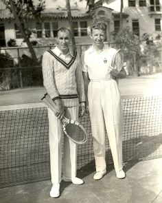Don Budge and Bill Tilden, Palm Beach, 1940 | Flickr - Photo Sharing!