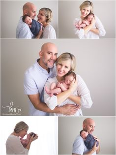Carmel, IN family wiht newborn baby boy