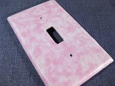 Pastel Pink Light Switch Plate Cover