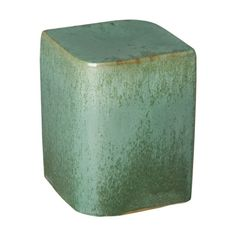 This Aero ceramic garden stool with a Metallic Mint glaze is the perfect touch to any indoor or outdoor space. It can be used as a small side table, an extra-seat or as a planter pedestal. This collection offers the best combination of design and glazes. Ceramic Stool, Ceramic Garden Stools, Accent Chairs Under 100, Household Cleaners, Chairs For Sale, Wood Species, Green And Grey, Mint, Ceramics