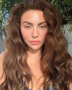 Summer Makeup Looks Beauty Makeup, Hair Makeup, Hair Beauty, Beauty Skin, Hair Inspo, Hair Inspiration, Summer Makeup Looks, Grunge Hair, Brunette Hair