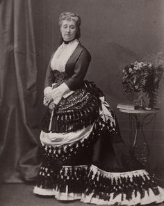 Empress Eugenie of France. Great Britain, mids 1870s.