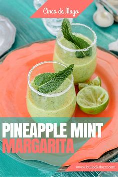 Pineapple Mint Margarita recipe