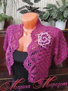 Фотография – Cardigans and sweaters – Modelle Sweater Jacket, Crochet Top, Cardigans, Crochet Sweaters, Tops, Women, Fashion, Crochet Blouse, Ballerina