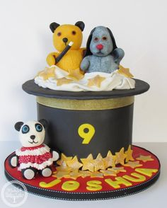 Sooty And Sweep Birthday Cake