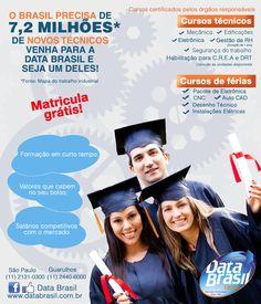 Anúncio colunado DataBrasil Edutec para Jornal O Colorido