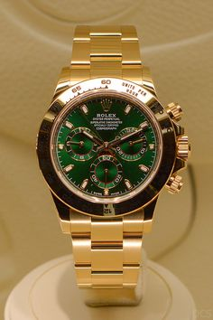 Rolex [2016 NEW MODEL] Cosmograph Daytona 116508 Green Dial Watch