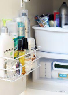 IHeart Organizing: UHeart Organizing: Bathing in Blissful Bath Storage