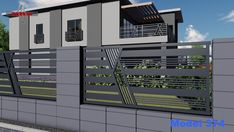 House Fence Design, Grill Gate Design, House Main Gates Design, Balcony Grill Design, Steel Gate Design, Front Gate Design, Railing Design, Door Design, Wall Design