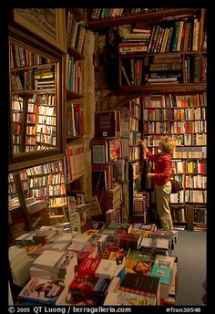 Shakespeare and Co bookstore in Paris.