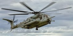 "A Sikorsky CH-53E Super Stallion, from Marine Heavy Helicopter Squadron 461 (HMH-461) ""Ironhorse,"" arrives at Kiwanis Park in Yuma, Arizona during the WTI 1-16 Noncombatant Evacuation Operation (NEO) exercise.  www.ottosenphotography.com | © Matt Ottosen"