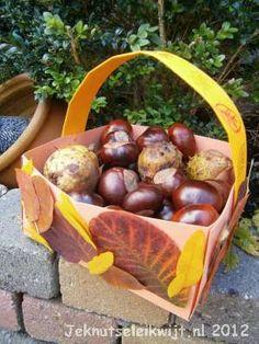 Herstknutsel herfst mandje