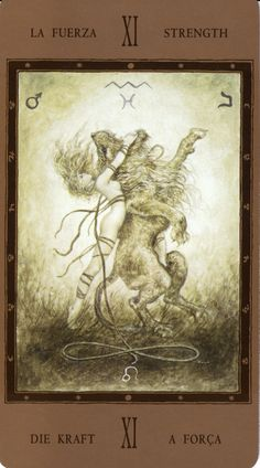 Strength from the Labyrinth Tarot