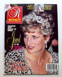 1992 ROYALTY Magazine Vol 11/6 Princess Diana Prince Charles in India