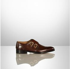 O'Brian Burnished Monk Strap by Ralph Lauren