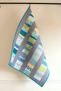 Quilting book strips or squares