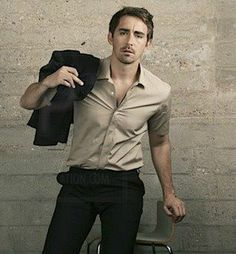 Lee Pace from Halt and Catch Fire — If Lee's Joe McMillan and Benedict's Sherlock Holmes were in the same room, I would spontaneously combust. Two men who look so good in button-up shirts, in the same place, would be too much for me to handle. xP