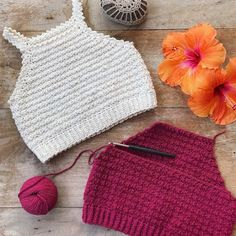 Diy Crafts - Finishing some tops . Made these ones with cascadeyarns Fixation. Crochet pattern for this Elsa top 2 in my Etsy shop (link in bio) Mode Crochet, Crochet Girls, Diy Crochet, Crochet Crafts, Crochet Projects, Diy Crafts, Crochet Summer Tops, Crochet Crop Top, Crochet Designs