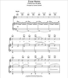Tu hi re sheet music composed by ar rahman music pinterest jelias music playground piano sheet mr beans theme original animated solutioingenieria Images