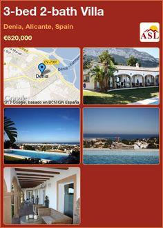 3-bed 2-bath Villa in Denia, Alicante, Spain ►€620,000 #PropertyForSaleInSpain