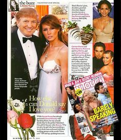 Donald Trump used Speaking Roses for his Wedding! www.speakingroses.com