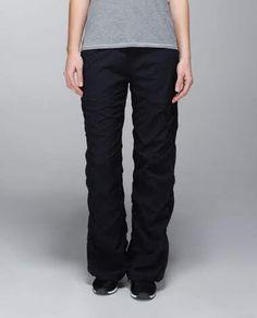 Black Studio Pants From Lululemon