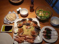 Shrimp & clams