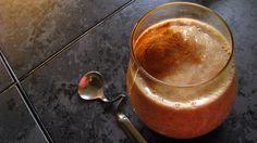 Vanilla-Chai Banana Smoothie (Dairy Free). ☀CQ #glutenfree #smoothie