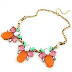 Hawaii Fashion Pineapples Necklace