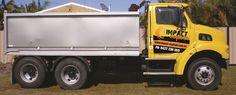 Impact Asphalt 'Big Bird'.  Asphalt truck.
