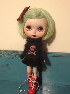 OOAK custom Blythe doll. by NeverLeftBeehind