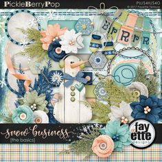 Snow Business The Basics - Elements By Fayette Designs