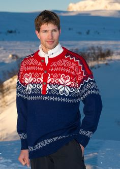 Norwegian ski team olympic sweater Lake Sarajevo 1984 http://www.dalegarn.com/shop_pattern_detail.php?hId=1375