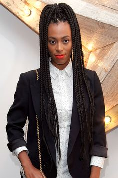 Box Braids Hairstyles   ... / Beyoncé, Solange and other celebs rocking protective hairstyles