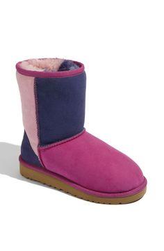UGG® Australia 'Classic Short - Patchwork' Boot (Walker)
