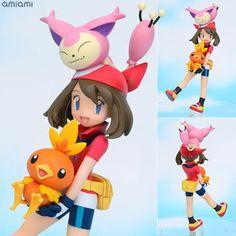 G.E.M. Series - Pokemon: May & Torchic & Skitty Complete Figure(Pre-order)(G.E.M.シリーズ ポケットモンスター ハルカ&アチャモ&エネコ 完成品フィギュア)