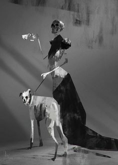 Dame Morte, Alexander Joseba on ArtStation at http://www.artstation.com/artwork/dame-morte