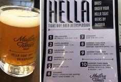 Modern Times Beer Hella Tight Bay Area Beersplosion