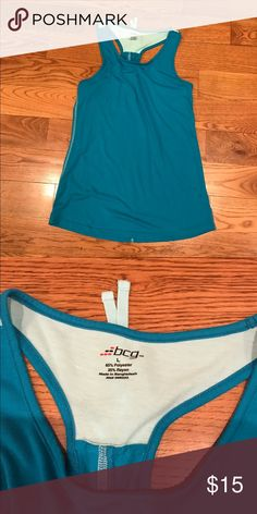 Yoga top Blue yoga top. Cool and comfortable for your workout! BCG Tops Tank Tops