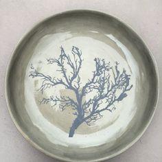 Ceramic plate. With silkscreen
