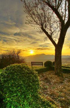 My inner landscape - Sunset
