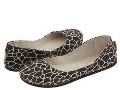 Second Favorite pair of shoes I own!! Giraffe Flats