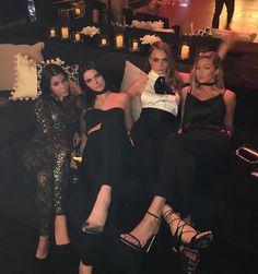 | Kourtney, Kendall, Cara, & Gigi |