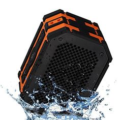 [Waterproof Speaker] Mpow® Armor Portable Bluetooth Speaker,5W Strong Drive/Passive Radiator for Rich Immersive Sound,Waterproof Shockproof and Dustproof Outdoor/Shower/MP3/PC Speakers with Emergency Power Surpply -  - http://ehowsuperstore.com/bestbrandsales/automotive/waterproof-speaker-mpow-armor-portable-bluetooth-speaker5w-strong-drivepassive-radiator-for-rich-immersive-soundwaterproof-shockproof-and-dustproof-outdoorshowermp3pc-speakers-with-emerg