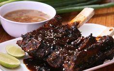 Cara Membuat Konro Bakar Khas Makassar Makassar, Indonesian Food, Food Art, Steak, Menu, Asian, Cooking, Recipes, Drink