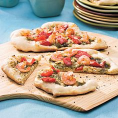 Grilled Pizzas | Wedding Bridal Shower Ideas: Food Recipes, Decorations, and More Entertaining Tips - Southern Living