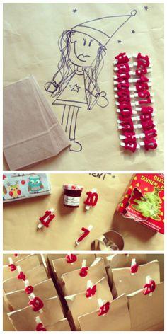 69. #Adventskalender #diy #idea Ooooh, das ist meiner :)