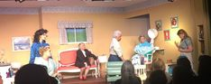 Scene from me in Steel Magnolias. The girls listen to Annelle's woes....